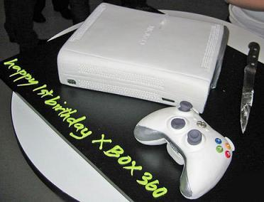xbox cakes from xboxfreedom.com