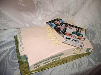 xbox 360 cakes