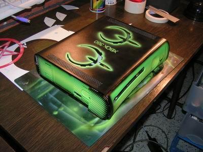 Gleaming Green Quake 4 Xbox 360 Mod | Xbox Freedom