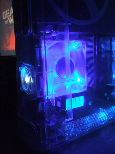 LED Xbox 360 Mod is See Through | Xbox Freedom