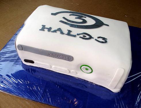 xbox-halo-cake