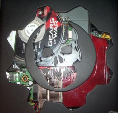 gears of war xbox 360 mod case