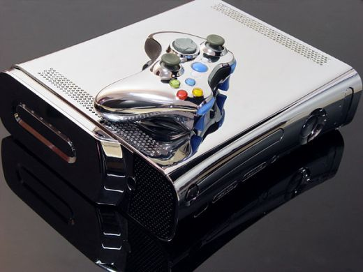 Xbox 360 Chrome Case Mod