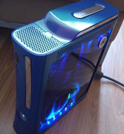 cool xbox 360 mod is watercooled