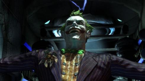 joker batman arkham asylum