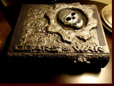 cool xbox 360 mod of gears of war