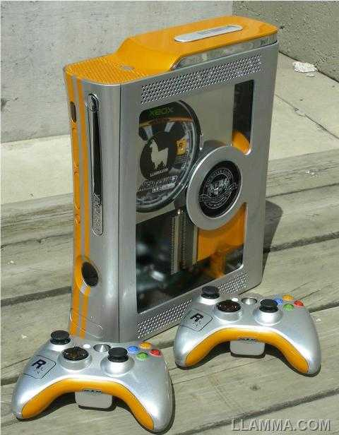 cool xbox 360 mod of rockstar games