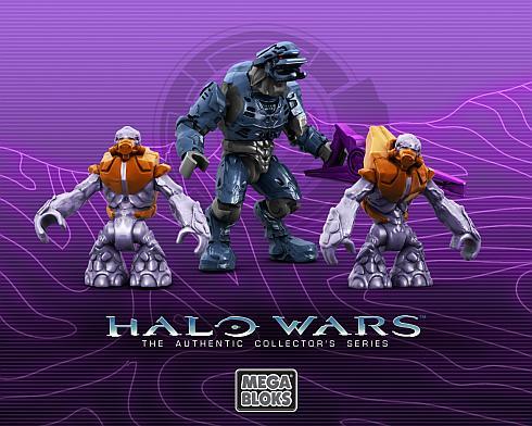 halo wars figurines