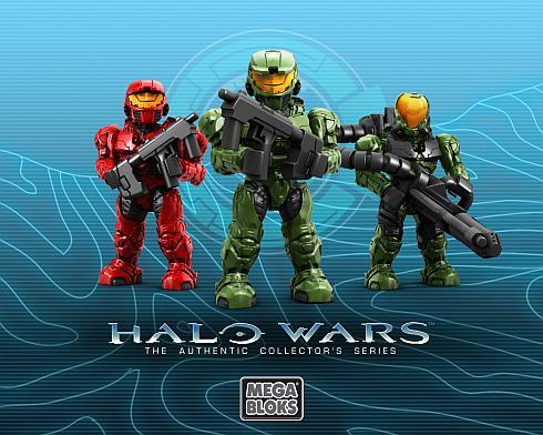 halo wars mini figures