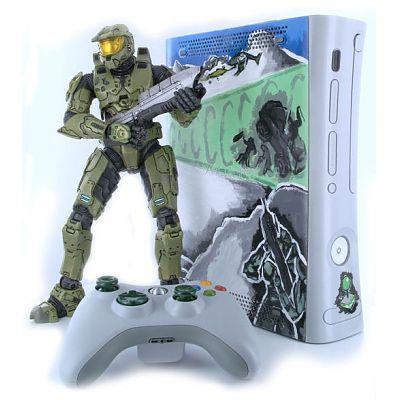 Custom Painted Halo Xbox 360 Mod | Xbox Freedom