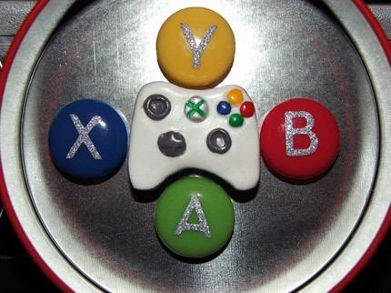 xbox 360 controller magnet set