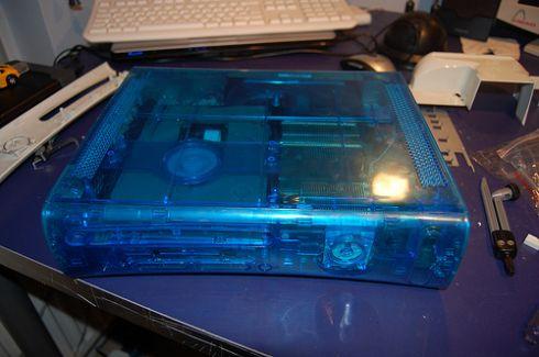 blue light xbox 360 mods