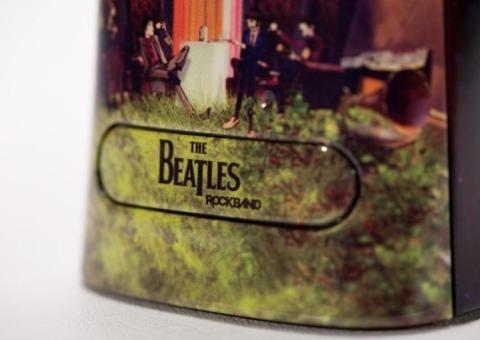cool xbox 360 mod the beatles rock band