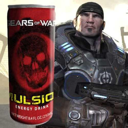 Gears Of War Imulsion Drink