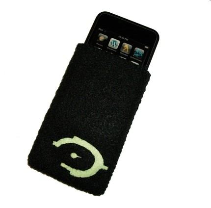 halo logo iphone case