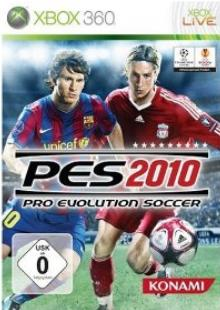 pes 2010 pro evolution soccer xbox 360 game