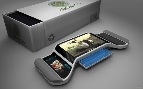 Xbox 720 portable concept