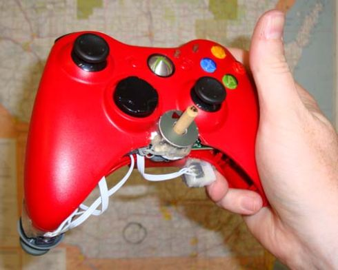 single handed xbox 360 controller