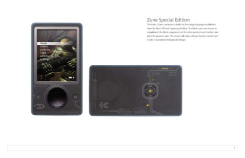 halo zune player