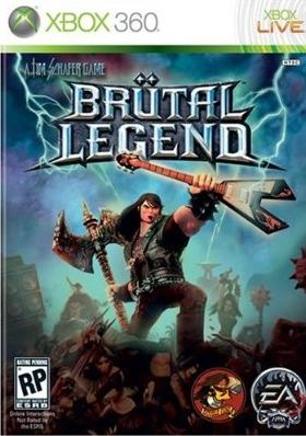 brutal legend xbox 360 video game