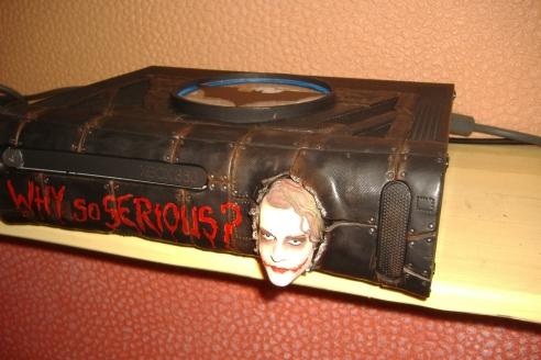 cool xbox 360 mod with joker