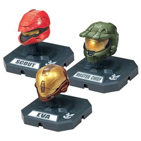 cool halo miniatures characters helmets
