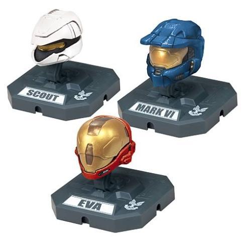 cool halo characters helmets