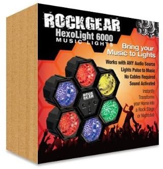 rock band hexolight lights