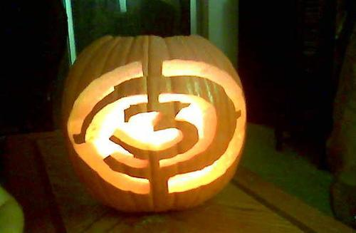 new halo 3 pumpkin