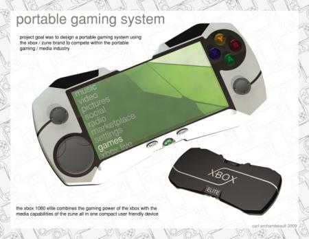 xbox 1080 portable gaming