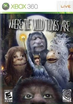 where the wild things are xbox 360 game