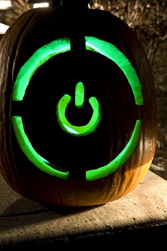 xbox power pumpkin