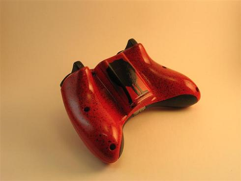 red-black-paddle-controller