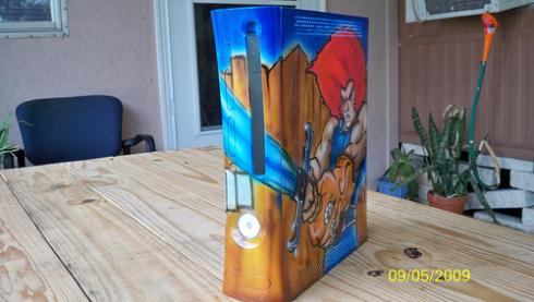 thundercats xbox 360 mod side