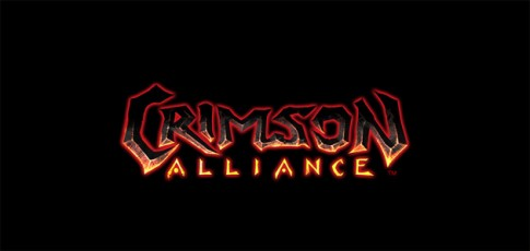 crimson alliance header title logo