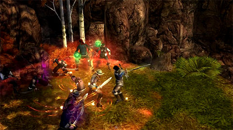 dungeon siege 3 lucas the guardian