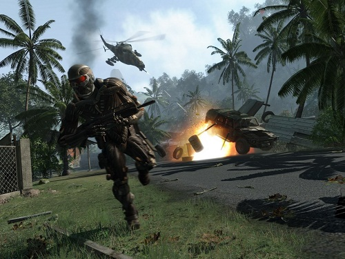 crysis shooter running