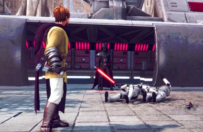 kinect star wars gameplay