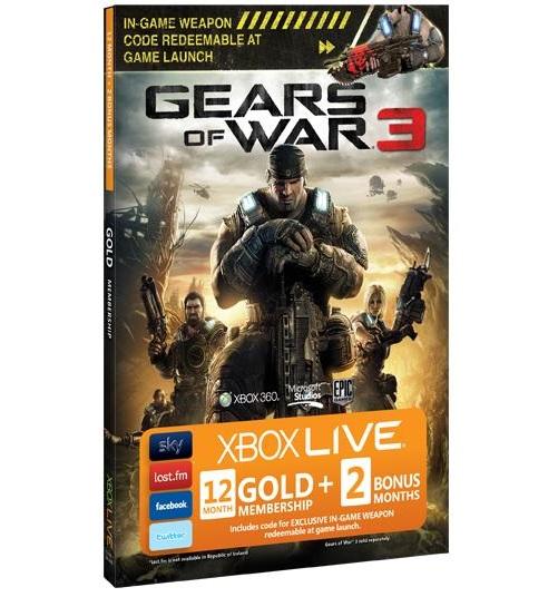 gears of war 3 subscription