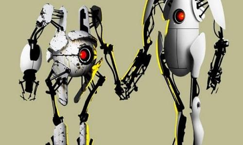 Portal 2 robots cooperative