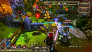 dungeon defenders gameplay