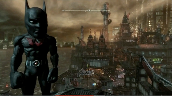 batman arkham city big head glitch
