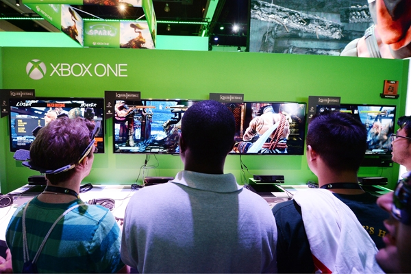 Xbox One in Use