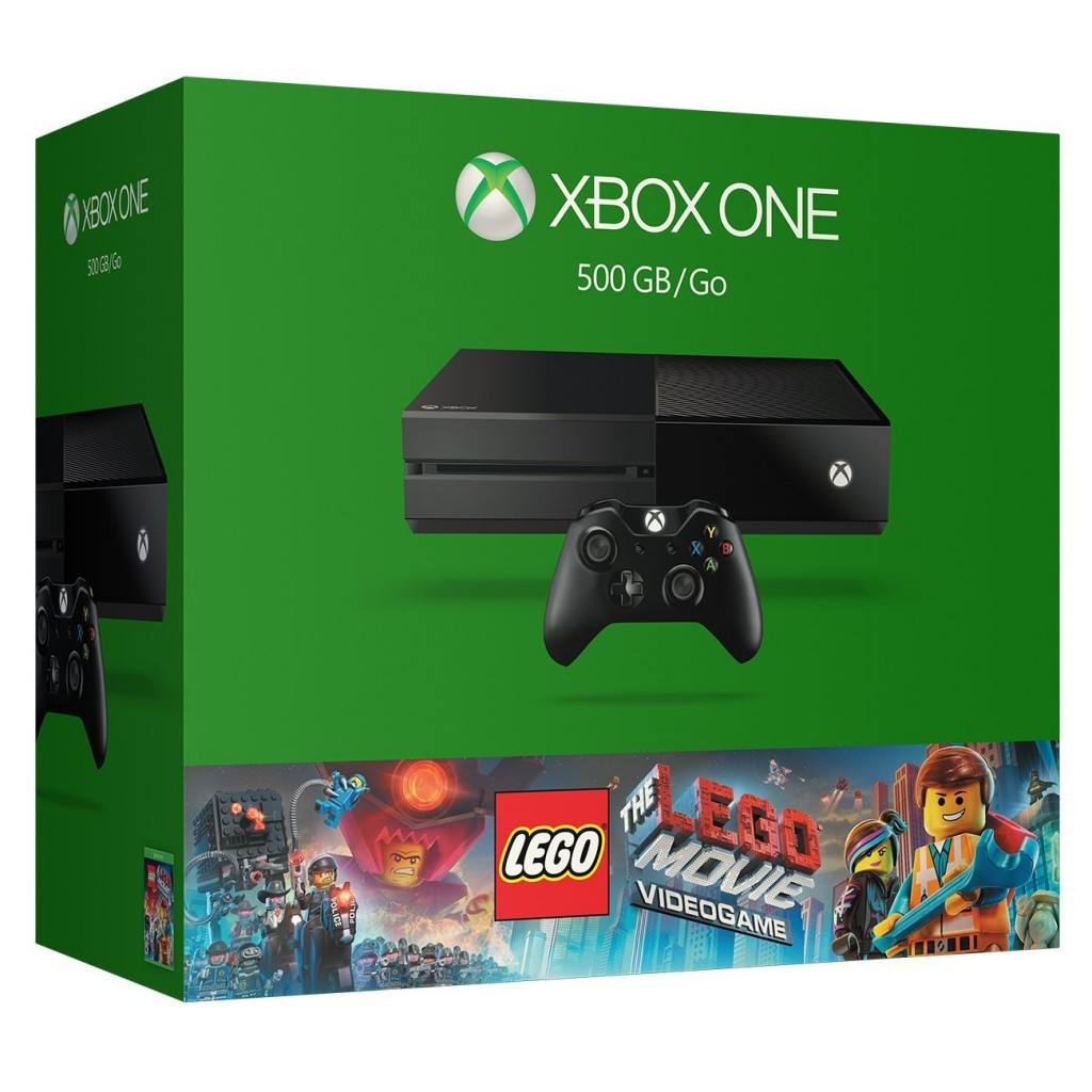 Xbox One Lego The Movie Bundle
