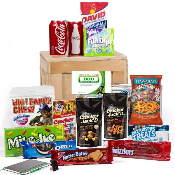 Video Gamer Gift Basket Care Package
