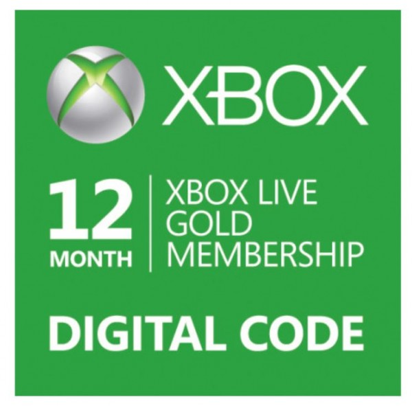 Xbox Live Gold Membership Gift Card
