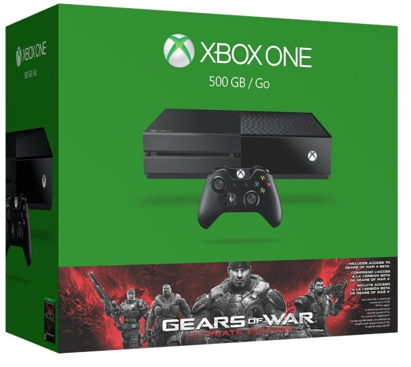 Xbox One 500GB Gear of War Bundle