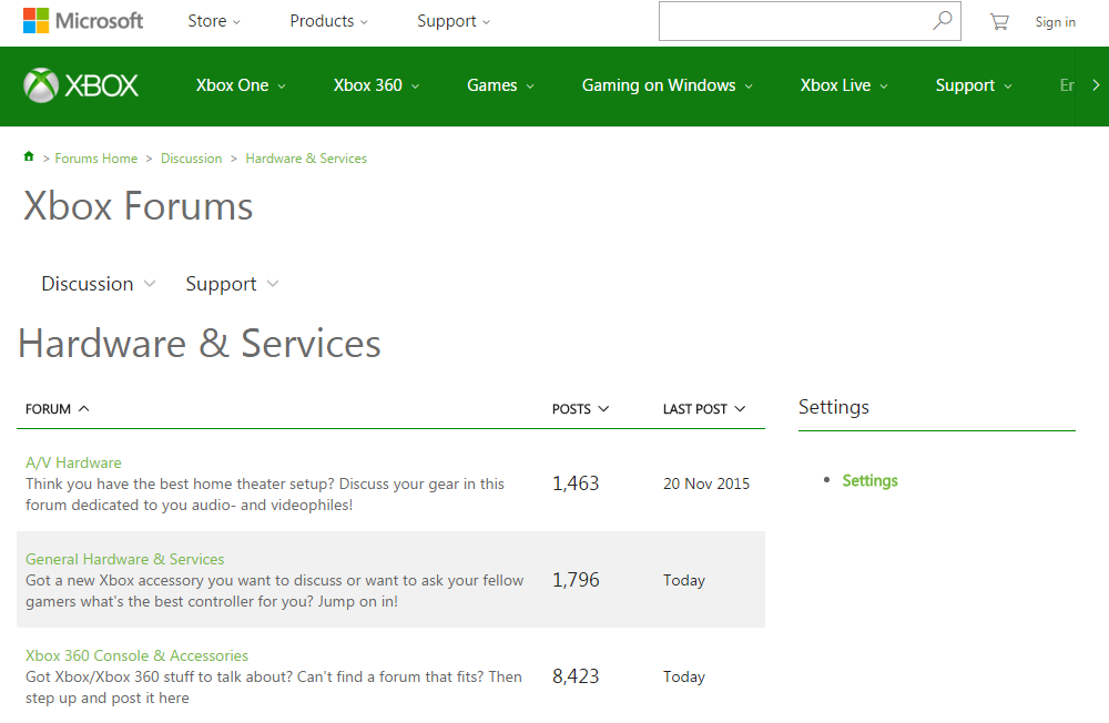 Xbox One Support & Troubleshooting Xbox Forums