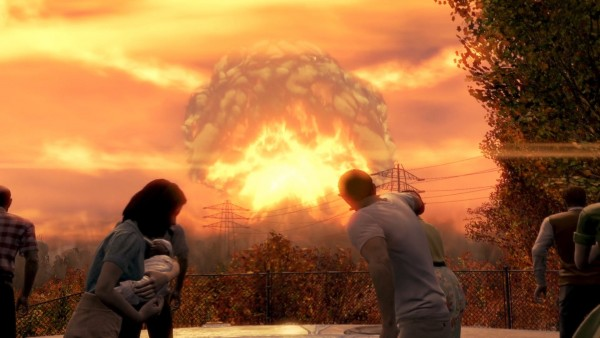 Fallout 4 Nuclear Bomb Wallpaper