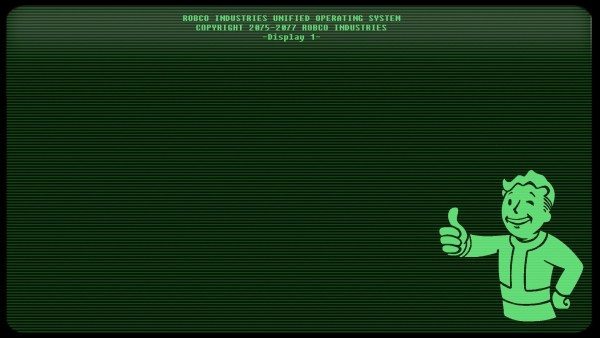 Fallout 4 Terminal Screen Wallpaper